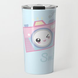 Camera Kawaii Travel Mug