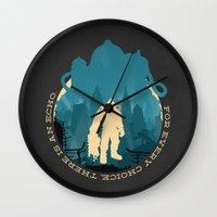 bioshock Wall Clocks featuring Bioshock 2 by Bill Pyle
