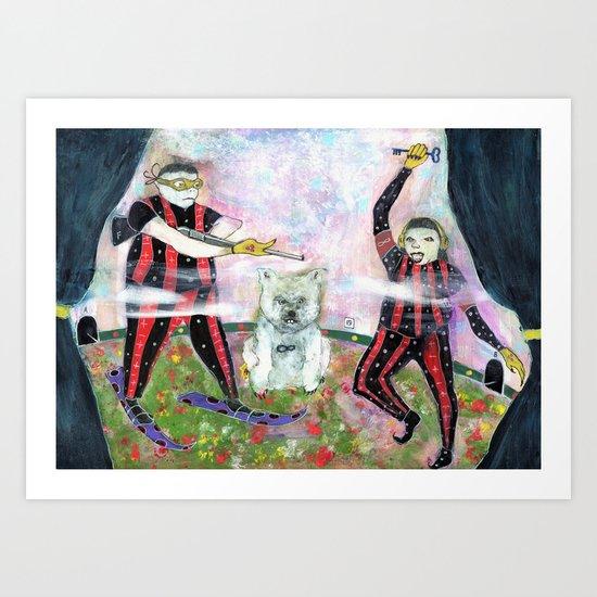 Special Room X Art Print