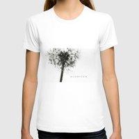 dandelion T-shirts featuring dandelion by Ingrid Beddoes