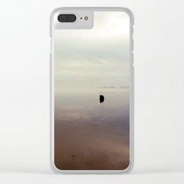 Foggy Sunrise Clear iPhone Case