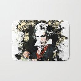 Ludwig van Beethoven Bath Mat