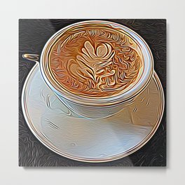 Not Your Ordinary Coffee Metal Print