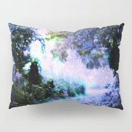 fantasy garden Periwinkle Pillow Sham