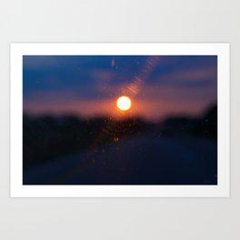 Sunrise.. Sunset.. Art Print