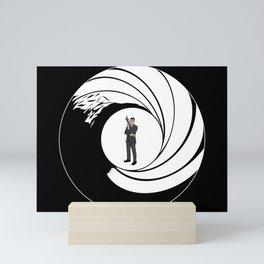 The Name is Archer. Mini Art Print