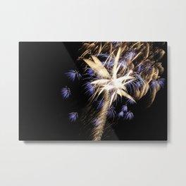 MV Fireworks: Explosions in the Sky Metal Print