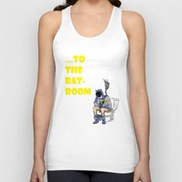 bathroom Tank Tops featuring To The BAThroom by Miguel Villasanta