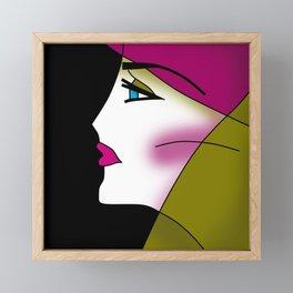 SAHARA Framed Mini Art Print