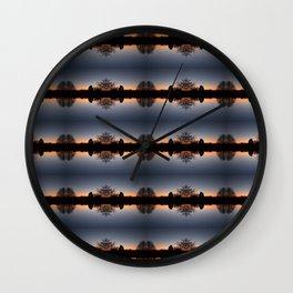 Malvern sunrise Wall Clock