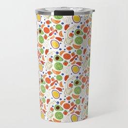 Fun Fruit and Veges Travel Mug