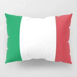 National Flag of Italy, High Quality Image Pillow Sham