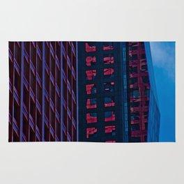 Chicago Architecture: Cool Tones Rug