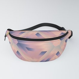 Impossible triangles Optical illusion Fanny Pack