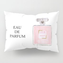 Classic Pink Parfum Pillow Sham