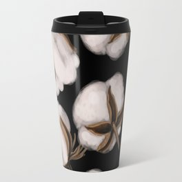 Cotton flower Travel Mug