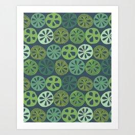 Lotus Root Art Print