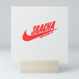 3RACHA JUST BURN IT Mini Art Print