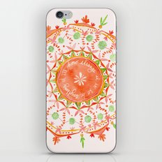 how strange it is to be anything at all iPhone & iPod Skin