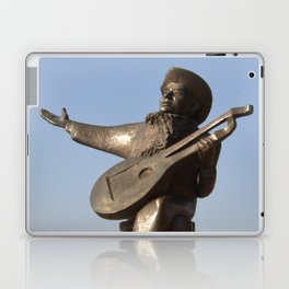 Lute Player Sculpture Stockholm Laptop & iPad Skin
