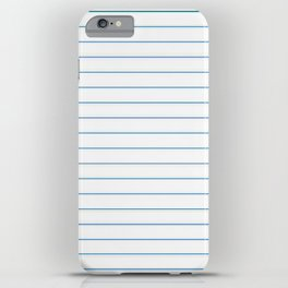 Notebook Paper iPhone Case