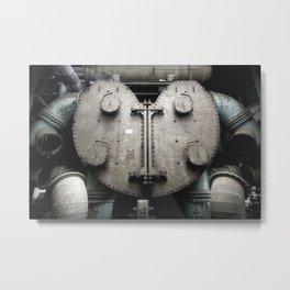 Autopsy of a robot Metal Print