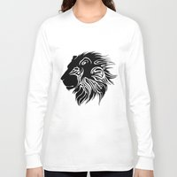lions Long Sleeve T-shirts featuring Proud Lions by Harry Martin