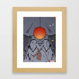 Robo Knit Framed Art Print