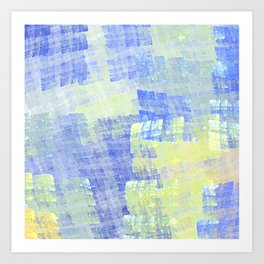 Abstract Fabric Designs 4 Duvet Covers & Pillows & MORE Art Print