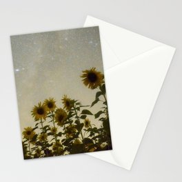 Sunflower Cosmos Stationery Cards