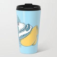 Funny Hat Shark Travel Mug