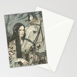 enmeshed in Nan Elmoth Stationery Cards