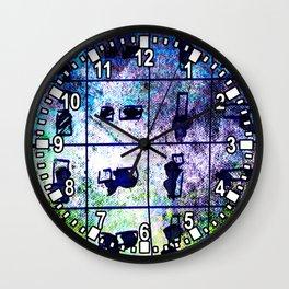 object matchsticks Wall Clock