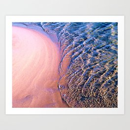 Sea magic Art Print