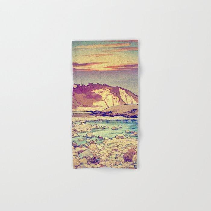 Sunset at Yuke Hand & Bath Towel