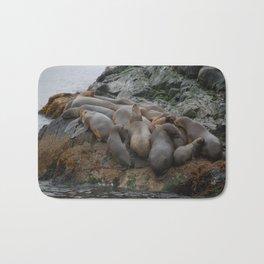South American Fur Seals Bath Mat