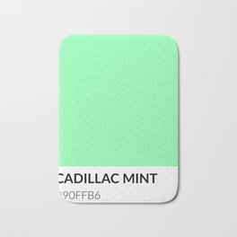 Cadillac Mint - Color Swatch Collection Bath Mat