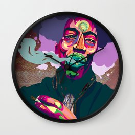 Hendrix Wall Clock