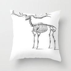 Dead Moose Throw Pillow