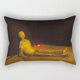 Helpless! Rectangular Pillow