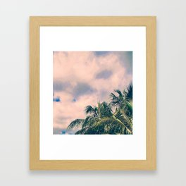 Tropical Like Kerala #society6 Framed Art Print