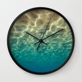 Underwater Upside Down Wall Clock
