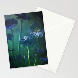 Scabious Blue Stationery Cards