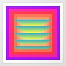 Gradient Fades v.4 Art Print