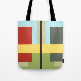 Geo Two Tote Bag