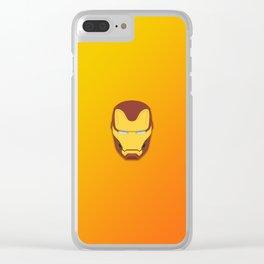Infinity War Iron man Clear iPhone Case