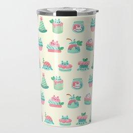 Choco Mint Rabbit Travel Mug