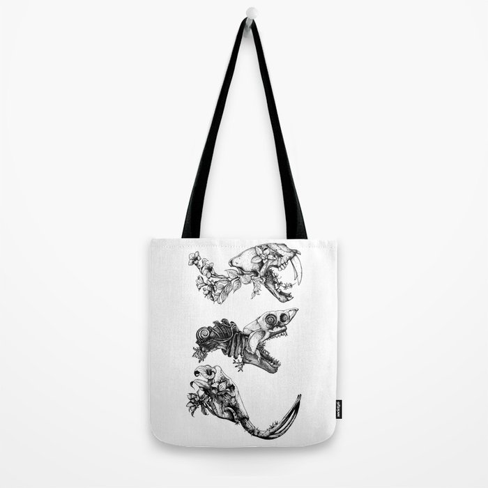 Prehistoric Bloom  Tote Bag