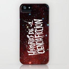 Historias de Ciencia Ficción: Nebulosa iPhone Case