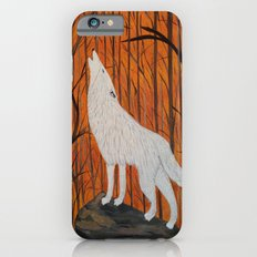 white wolf in the sunset Slim Case iPhone 6s